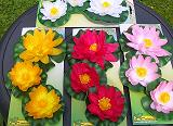 Set of 3 Floating Waterlilies